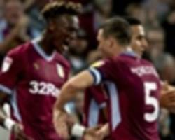 aston villa coach bruce hail abraham, bolasie after goalscoring home debuts