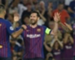 Rakitic wants more from Barcelona hat-trick hero Messi