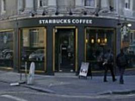 starbucks' uk-based company paid just £4.5m in tax last year