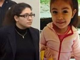mother charged with murdering daughter after losing custody and stabbing officers pleads not guilty