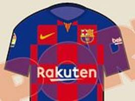 barcelona sign off on radical redesign for 2019-20 kit