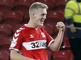 george saville strike moves middlesbrough up to second in championship table