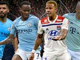 man city vs lyon live plus real madrid vs roma - champions league