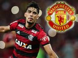 manchester united 'join barcelona and paris saint-germain in race to sign lucas paqueta'