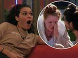 big brother: anamelia silva gets into another argument as she makes zoe jones burst into tears