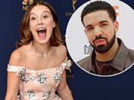 Millie Bobby Brown and Drake send texts that they miss each other