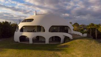 this $5 million dome-shaped home, known among locals as 'the star wars home,' is hurricane-resistant and available to buy for the first time — take a look inside