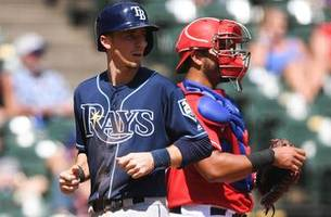 Rays pounce early, pound Rangers to finish off crucial sweep in Texas