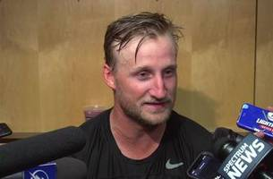 lightning captain steven stamkos assesses the team's first preseason game