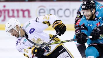 Elite League: Nottingham Panthers too strong for Belfast Giants in 6-3 away win