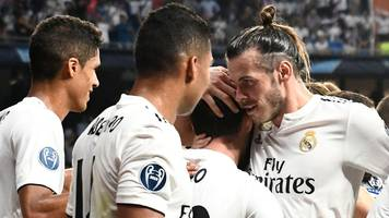 Bale scores as Real Madrid dominate Roma