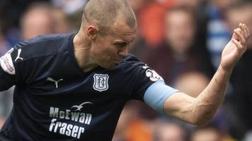 kenny miller: dundee striker fails in rangers red card appeal