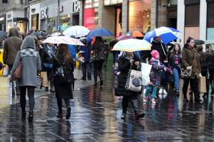 met office issues 'danger to life' storm ali weather warning for birmingham on thursday and friday