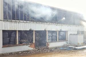 Public Health England warns those near Westwood Industrial fire that smoke can irritate throat and lungs