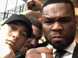 "50 cent thinks everyone – including mgk – took an l from eminem's ""killshot"" disses: ""the biggest hip-hop song on youtube"""