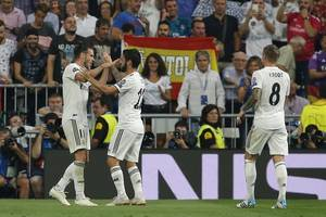 Real Madrid starts life after Ronaldo with 3-0 win vs Roma