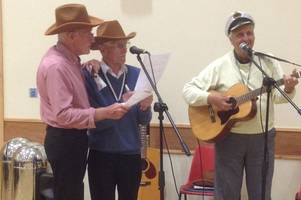 Members of Stonehouse Jubilee Club provide the entertainment