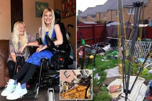 Woman comes home from life-changing surgery abroad to find house trashed after party advertised on social media