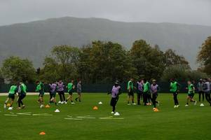 5 things we spotted at celtic training as leigh griffiths feels the cold ahead of rosenborg clash