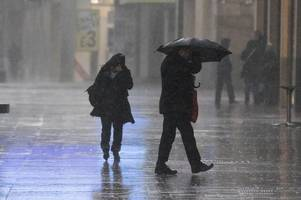Three severe weather warnings for wind and rain issued for Wales