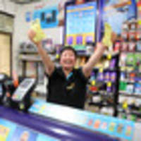 five first division lotto tickets sold in flaxmere and $2.5m won in hastings