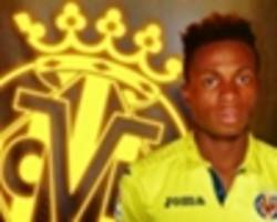 samuel chukwueze makes villarreal debut in rangers stalemate