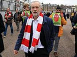jeremy corbyn calls for boycott of arsenal fc after it advertised israeli tourist destinations