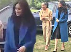 meghan markle's mother doria joins her and harry at kensington palace