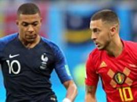 Belgium and France top Fifa world rankings to be first ever joint-leaders