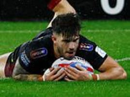 huddersfield 6-13 wigan: oliver gildart scores late to clinch home semi-final