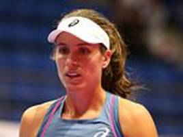 Johanna Konta knocked out of Pan Pacific Open by Donna Vekic