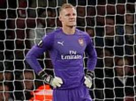 a mixed night for arsenal's new signings lucas torreira, bernd leno and stephan lichtsteiner