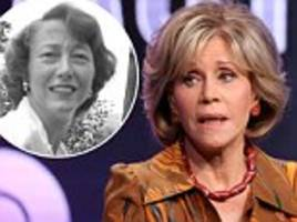 Jane Fonda found out about her mother's suicide in  from a MAGAZINE