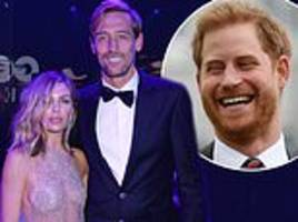 peter crouch reveals prince harry asked him how he 'bagged' model wife abbey clancy