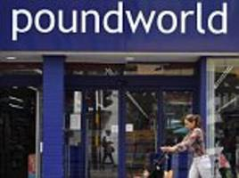 daily briefing: poundland takes over 20 former poundworld stores