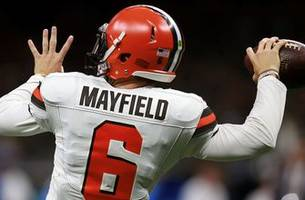 colin cowherd on if baker mayfield will start tonight against jets: 'we should be on baker watch'