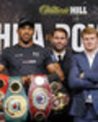 Anthony Joshua vs Alexander Povetkin: Russian opponent piles pressure on British boxer