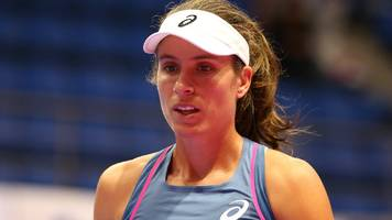 Konta beaten in straight sets by Croatia Vekic