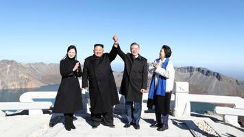 third inter-korean summit ends with highly symbolic mountain visit