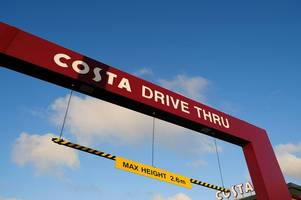 New drive-thru Costa Coffee coming to M1 services in Derbyshire
