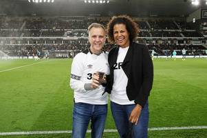 rams fan proposes at derby match after four-month romance