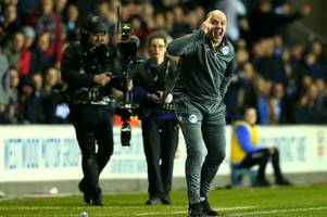 Wigan Athletic boss Paul Cook reveals his admiration for Bristol City