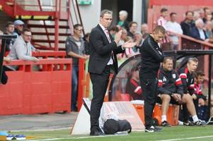 every word of cheltenham town manager michael duff's interview ahead of exeter city away