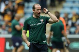 let's do our talking on the pitch, says leicester tigers' coach geordan murphy