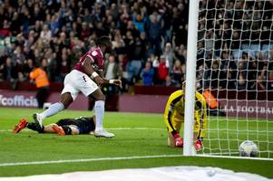 aston villa ace backed by manchester united star after first goal