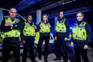 celebrities will be policing cambridgeshire on new channel 4 reality show famous and fighting crime