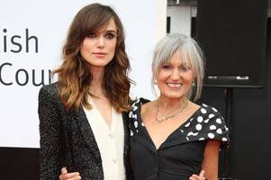 hollywood's keira knightley on how her glasgow mum's work ethic made her the star she is today