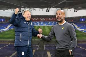 the early cardiff city v man city team news as pep guardiola's side have several concerns