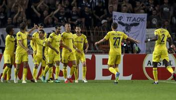 paok 0-1 chelsea: report, ratings & reaction as blues begin europa league campaign with simple win