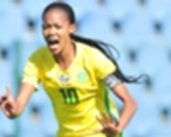 banyana banyana beat uganda to set up cosafa cup final date with cameroon